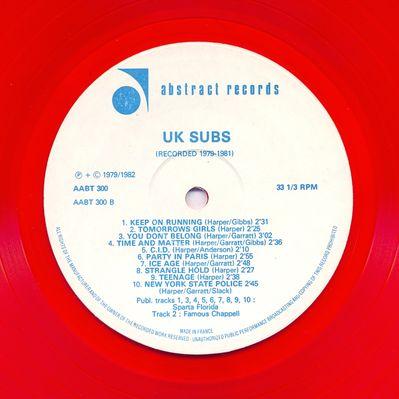 AABT300 Red vinyl Side B