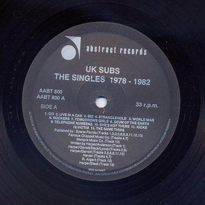 AABT800LP 1991 Black vinyl Side A