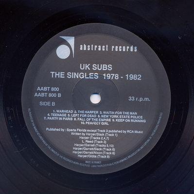 AABT800LP 1991 Black vinyl Side B