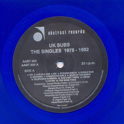 AABT800LP 1991 Blue vinyl Side A