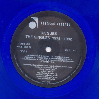 AABT800LP 1991 Blue vinyl Side B
