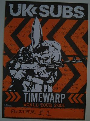 Timewarp Tour Poster 2001