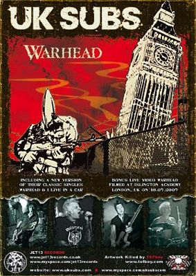 Warhead on-line CD advert