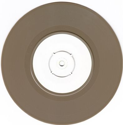 White label, brown vinyl B-side