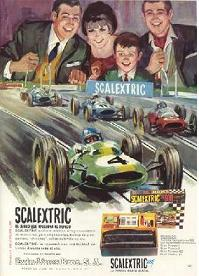 Scalextric Advert from 1967 - click to enlarge